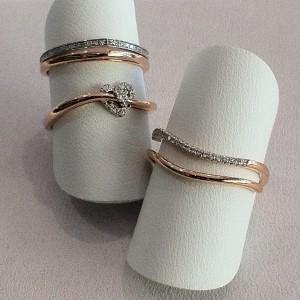 14k Rose Gold Rings