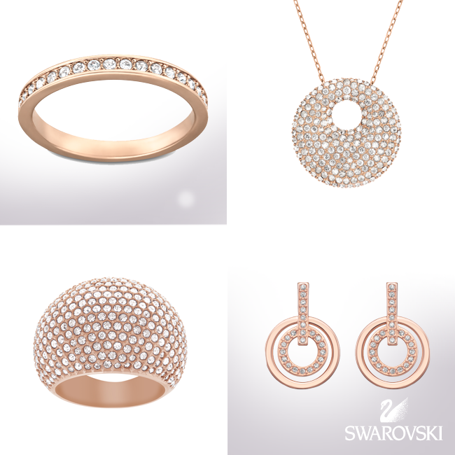 swarovski rose gold crown jewellery sydney