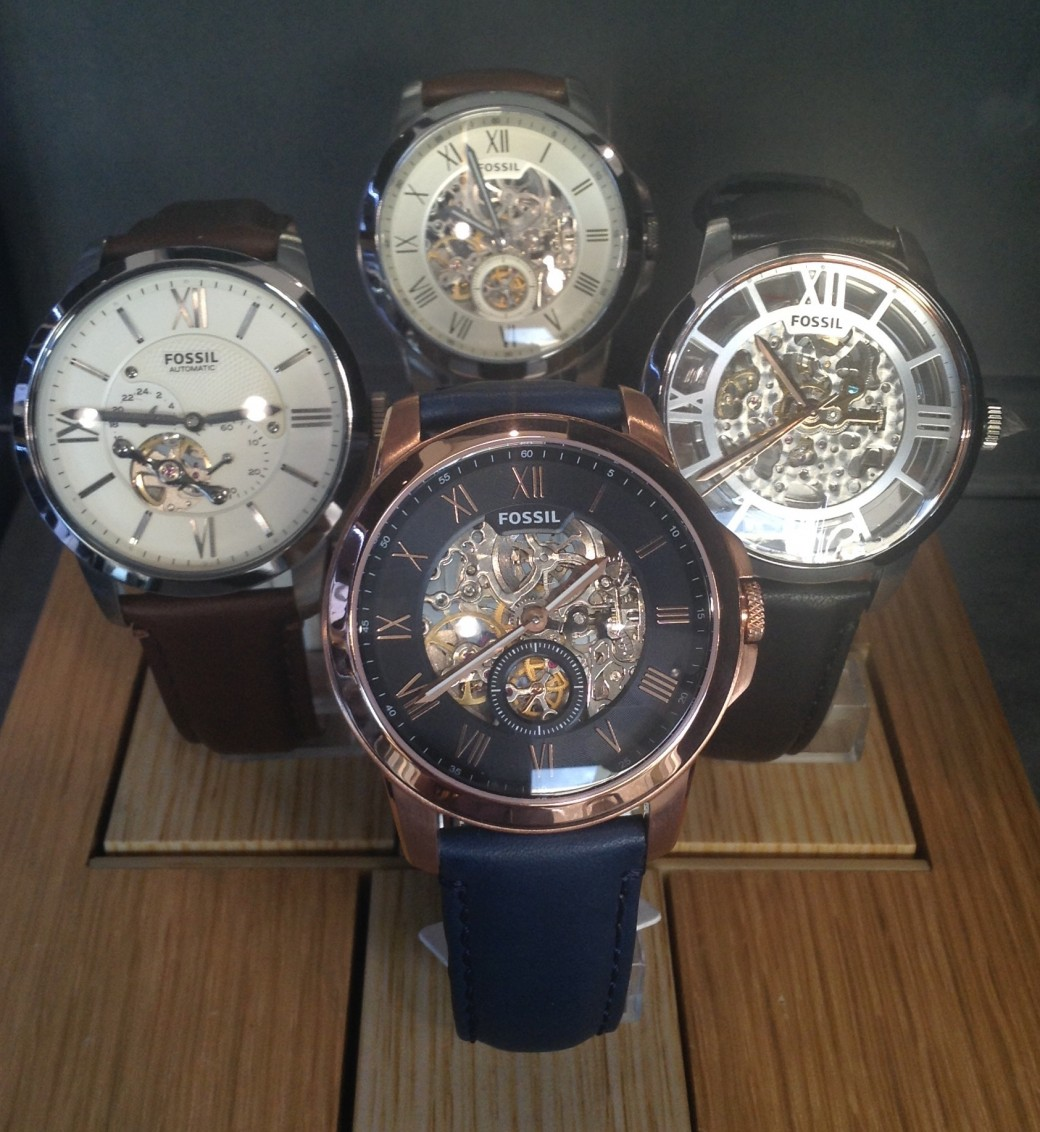 Fossil Automatic Watches Crown Jewellery