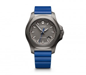 VICTORINOX INOX TITANIUM BLUE CROWN JEWELLERY
